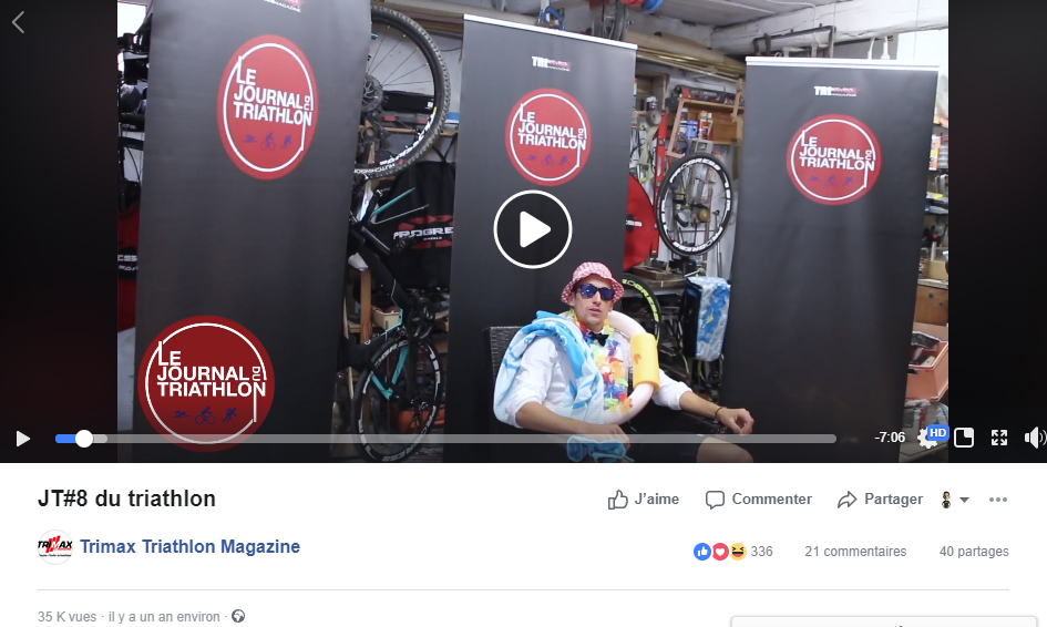 JT du Triathlon n°8, Août 2018