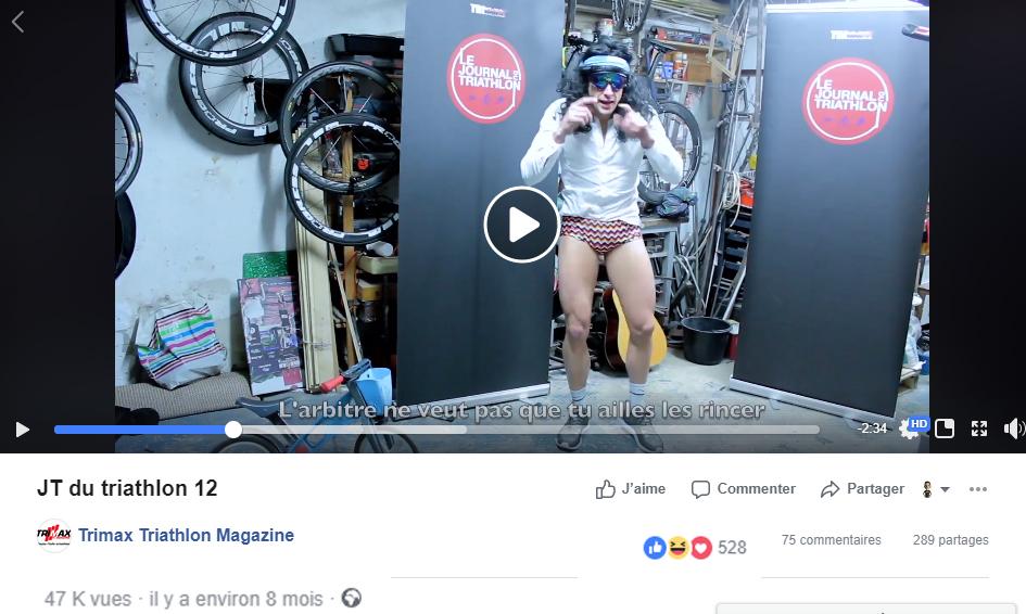 JT du Triathlon n°12, Décembre 2017 : Parodie depacito