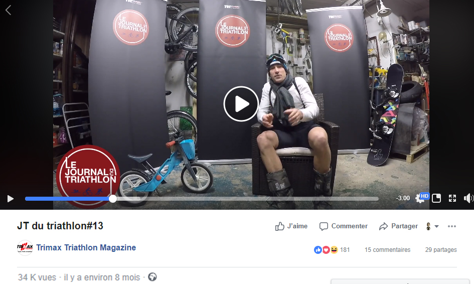 JT du Triathlon n°13, Janvier 2018