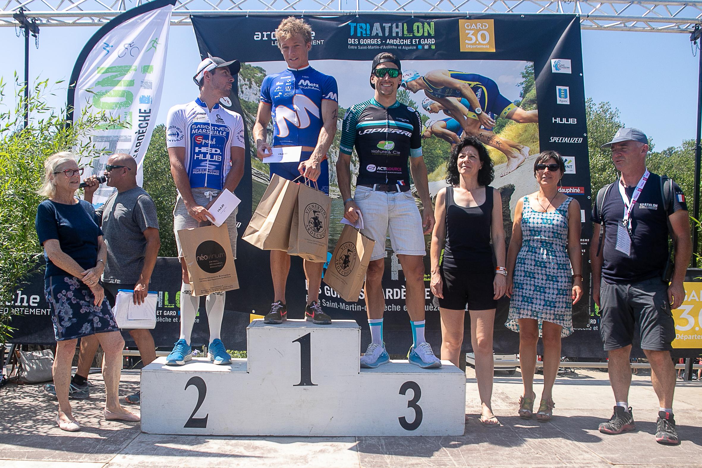 INSIDE – Le triathlon des Gorges de l'Ardèche 2020.