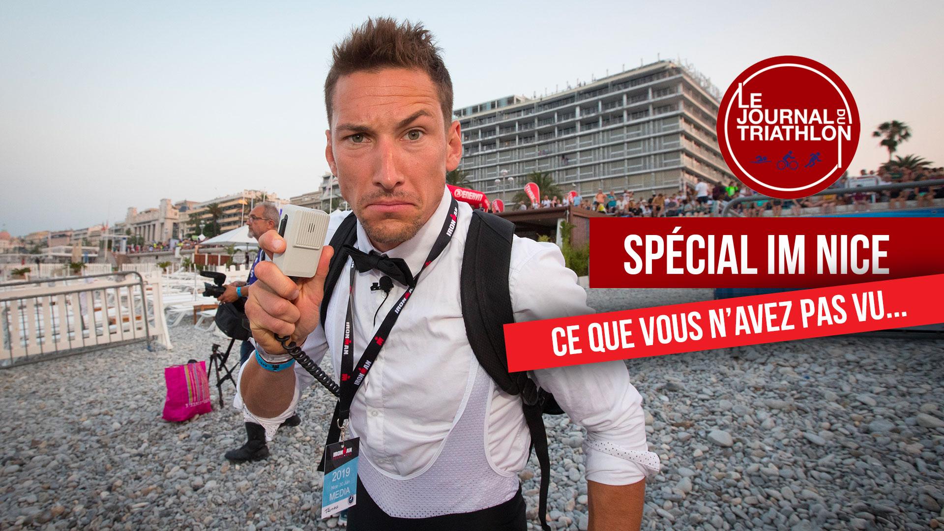 Vidéo IRONMAN de Nice : JT du triathlon n °22  – Live commenté !