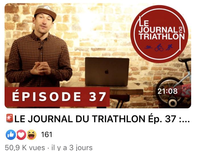 Emission n°37 – Le jt du triathlon en Nouveau format !!